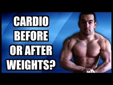 Should I Do Cardio Or Weights To Get Lean by Should You Do Cardio Before Or After Weights