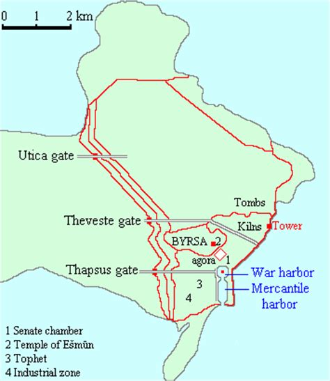 maps third punic war