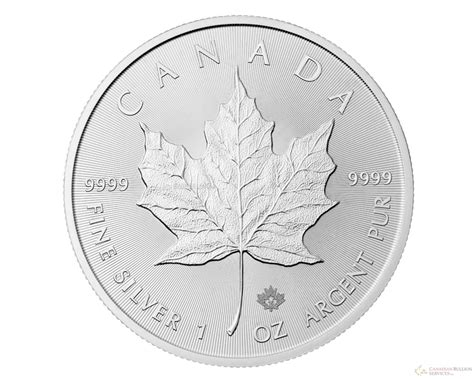 1 Oz Canadian Maple Leaf Silver Coin by Canadianbullion 1 Oz 2016 Canadian Maple Leaf Silver Coin