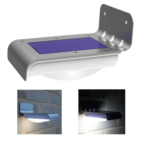 Led Solar Outdoor Lights 16 Led Solar Power Motion Sensor Garden Security L Outdoor Waterproof Light Ebay