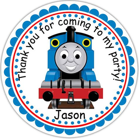 printable train stickers thomas the train personalized stickers party by sharenmoments