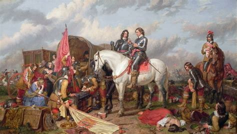 Rossa Moory Culture Original 1658 the stuarts cromwell in the battle of naseby in 1645