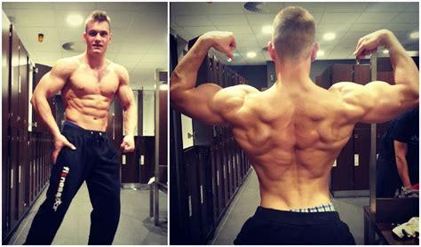 ectomorph 3 year muscular transformation