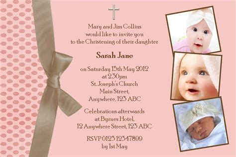 Baptism Invitation Template Baptism Template Psd