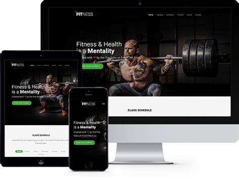 bootstrap templates for gym render free html5 bootstrap template freehtml5 co