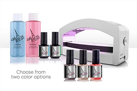 Gel Nail L Kit by How To Do A Gel Manicure At Home Get A Kit For