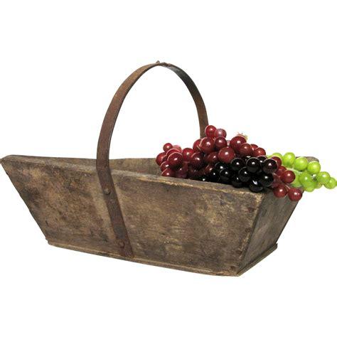 Garden Harvest Basket by Wooden Garden Trug Harvest Basket