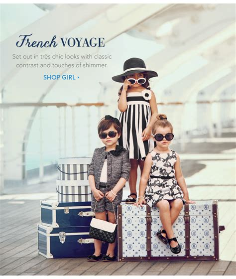 Janie And Jack Gift Card - janie and jack new collection french voyage milled
