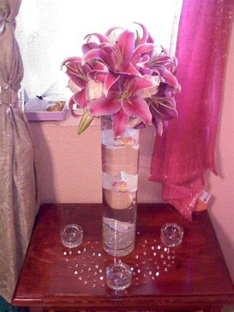 stargazer centerpieces my diy stargazer centerpiece wedding