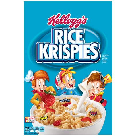 kellogg s rice krispies cereal 12 oz box food grocery breakfast foods cold cereal