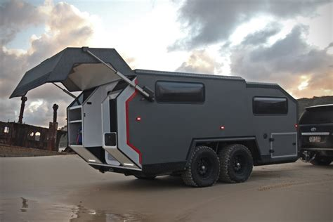 rugged travel trailer bruder exp 6 expedition trailer hiconsumption