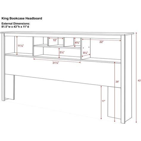 king bookcase platform storage bed king bookcase platform storage bed in cherry cbk 8400 kit