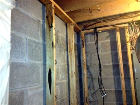 Basement Wall Insulation Applications Using Spray Do You Insulate Basement Walls
