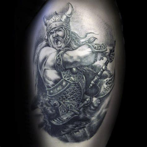 tattoo pictures of viking warriors 100 warrior tattoos for men battle ready design ideas
