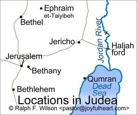 bethany jerusalem map 20 i am the resurrection and the 11 1 54