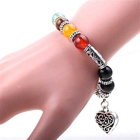bracelet 7 chakras amour gu 233 rison bijoux bracelet magie d asie