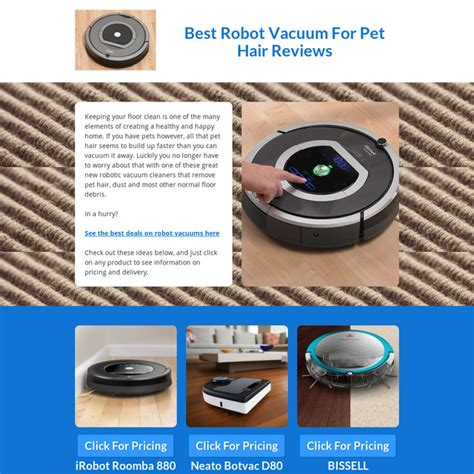 best robot vacuum best robot vacuum for pet hair reviews 2017 with image