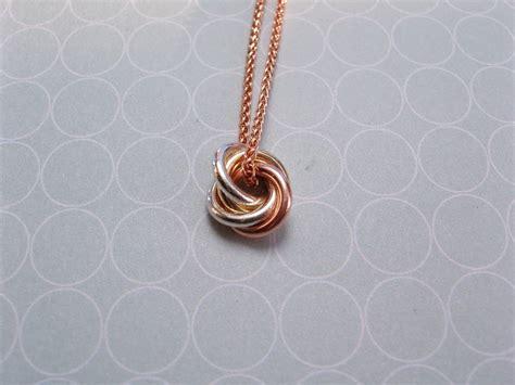 Zeca 147 Rosegold Green Original eternity solid nine ct gold necklace by greenaway notonthehighstreet