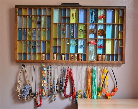 diy jewelry display diy necklace holder for ways hanging jewelries