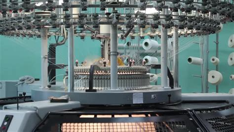 knitting machine industrial an image of industrial knitting machine stock footage