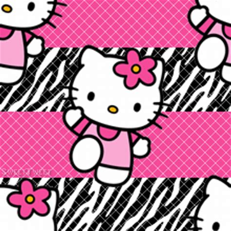 hello kitty zebra wallpaper tweets with replies by babyphat essise twitter