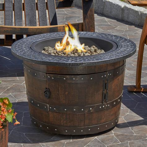 Wine Barrel Furniture Wine Enthusiast To Have To Whiskey Barrel Pit