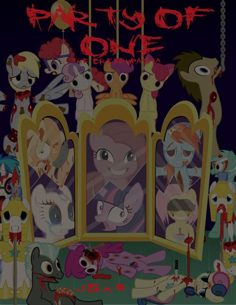 english party of one mlp creepypasta party of one english by j5a4 on deviantart