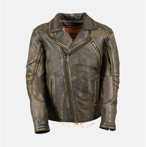 brown motorcycle jacket men s brown distressed leather police jacket extreme