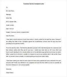 Unhappy Customer Letter Free Complaint Letter Template 20 Free Word Pdf Documents Free Premium Templates