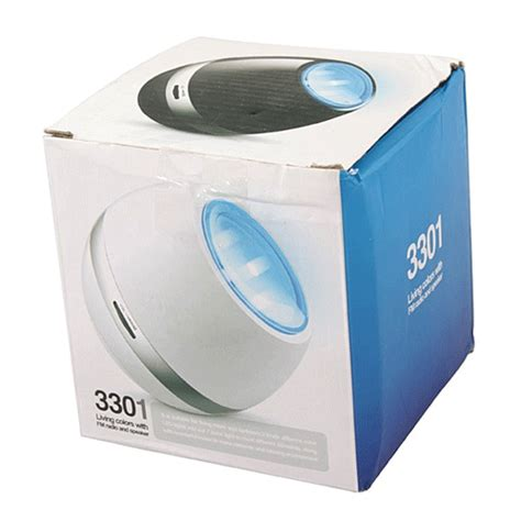 Led Living Colors With Fm Radio And Speaker Promo led speaker portable living colors with fm radio white