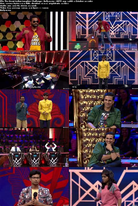 laughter challenge the great indian laughter challenge hdtv 480p 140mb 14