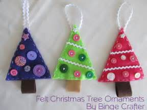 tree decorations to make with felt
