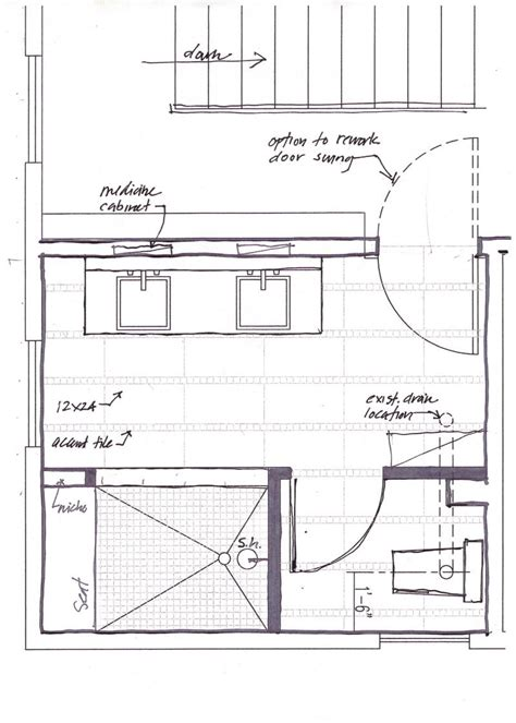 master bathrooms floor plans indianapolis master bath remodel shed dormer extension