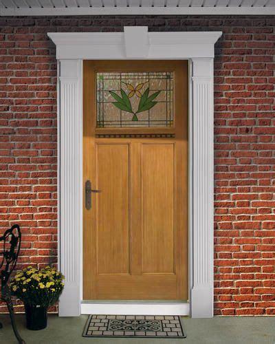 front door kit  fluted columns  keystone