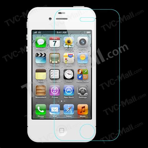 Best Seller Tempered Glass Iphone 4 4s pepkoo pour iphone 4s 4 en verre tremp 233 protecteur d 233 cran