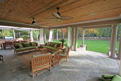 patio area outdoor living area design construction company virginia