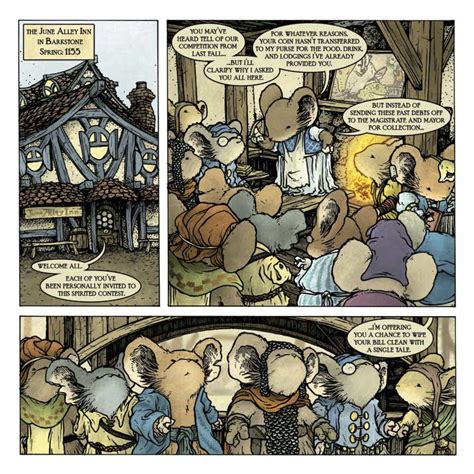 Mouse Guard Legends Of The Guard Vol 1 Graphic Novel Ebooke Book archaia preview legends of the guard vol 2 1 of 4