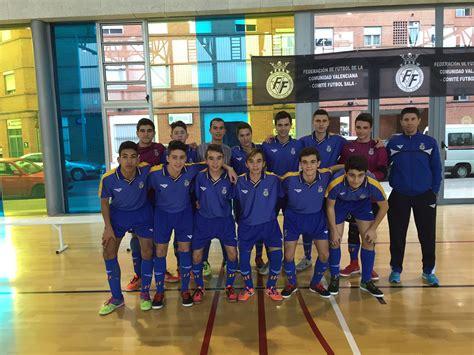 futbol sala comunidad valenciana la selecci 243 n sub 16 de f 250 tbol sala parte el jueves al