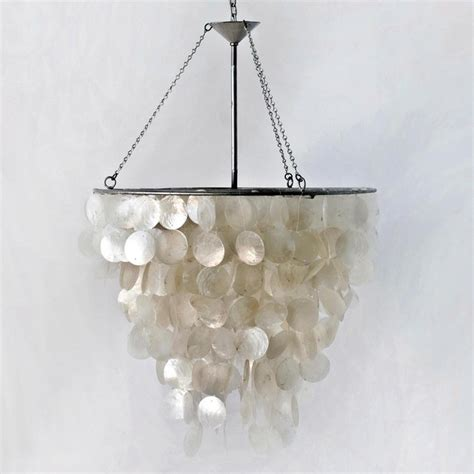 Worlds Away Chandelier Worlds Away Capiz Shell Chandelier Contemporary Chandeliers By Candelabra