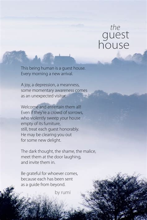 Rumi S Guest House Year Of Joys