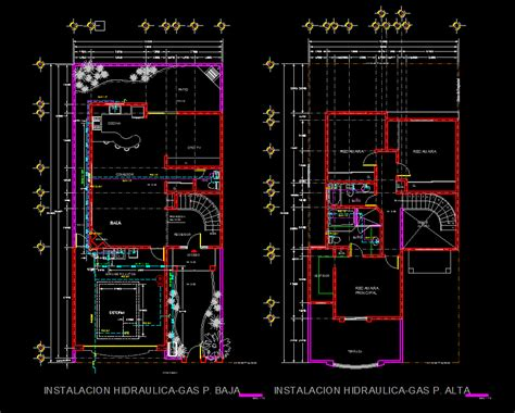 house  dwg full plan  autocad designs cad