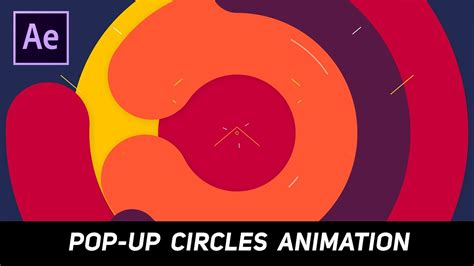 tutorial after effect pop up after effects tutorial pop up circles animation for