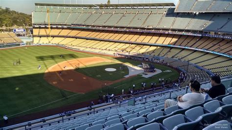 dodger stadium section 31 rs dodger stadium lower reserve 31 rateyourseats com