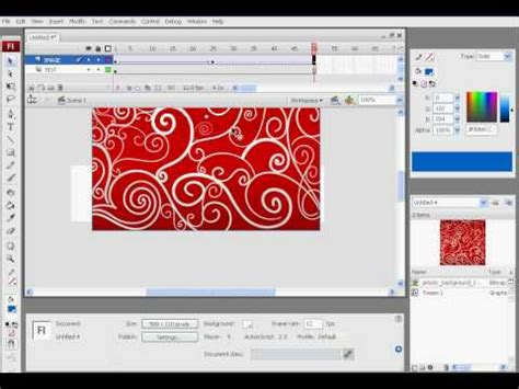 flash tutorial text scrolling text tutorial flash cs5 funnydog tv