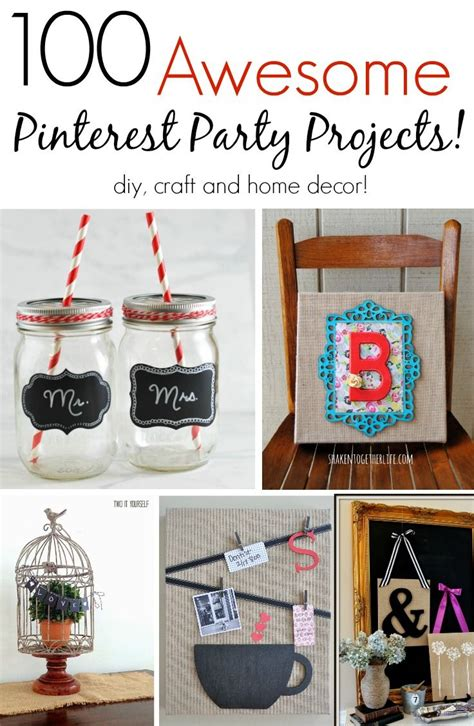diy home decor crafts pinterest 1000 images about party planning on pinterest john