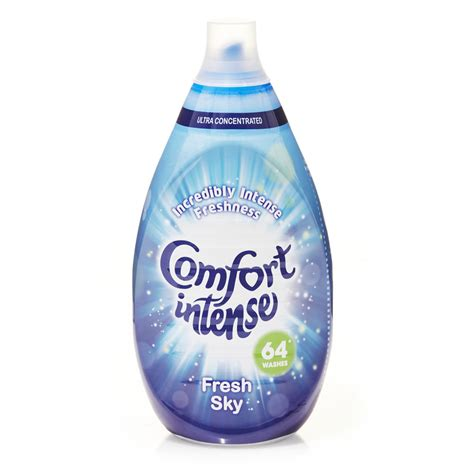 comfort a comfort intense fabric conditioner fresh sky 64 washes at