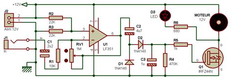 transistor mosfet c est quoi electronique realisations detecteur sonnerie reveil 002