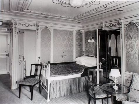 titanic 1st class bedrooms titanic bedroom titanic one maiden voyage pinterest