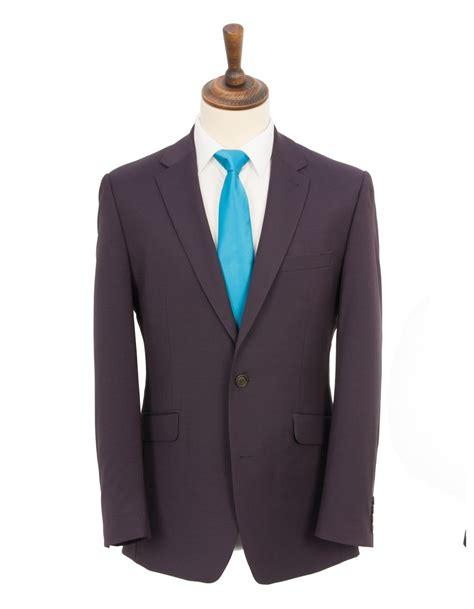 contemporary suits contemporary plain weave suit plum