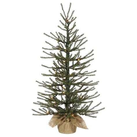 4 foot frosted angel pine christmas tree unlit b105140